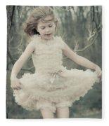 Dance Like Nobody's Watching Fleece Blanket