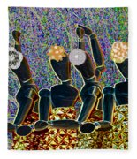 Dance Party Fleece Blanket