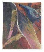 'dance Over Me' Fleece Blanket