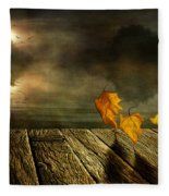 Dance To The Sun Fleece Blanket