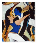 Dance With Me Fleece Blanket
