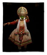 Dancers, India Fleece Blanket