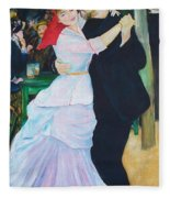Dancing Couple  Fleece Blanket