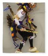 Pow Wow Dancing For The Spirit Fleece Blanket