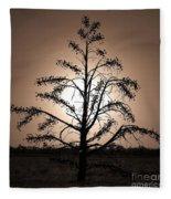 Dancing On A Moonlight Fleece Blanket