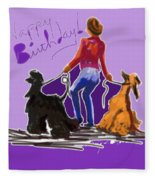 Dancing Fleece Blanket