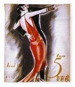 Dancing The Tango Fleece Blanket