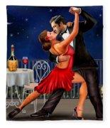 Dancing Under The Stars Fleece Blanket