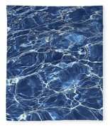 Dancing Water 5 Fleece Blanket