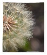 Dandelion Art - So It Begins - By Sharon Cummings Fleece Blanket