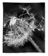 Dandelion Glow Fleece Blanket