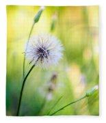 Dandelion Wishes Fleece Blanket