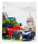Daniel Ricciardo Of Australia Fleece Blanket
