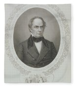 Daniel Webster, From The History Of The United States, Vol. II, By Charles Mackay, Engraved By T Fleece Blanket