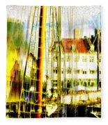 Danish Harbor Fleece Blanket