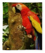 Danse Macaw Fleece Blanket