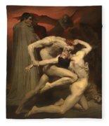 Dante And Virgil Fleece Blanket