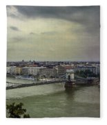 Danube River Fleece Blanket