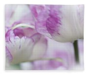 Dappled Tulips. The Tulips Of Holland Fleece Blanket