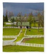 Darby Dan Farm Ky Fleece Blanket