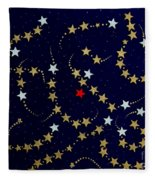 Dare To Be Different - Stars - Blazing Trails Fleece Blanket