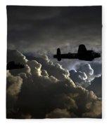 Dark Bombers  Fleece Blanket