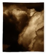 Dark Clouds Fleece Blanket