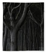 Dark Forest Fleece Blanket