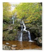 Dark Hollow Falls Fleece Blanket