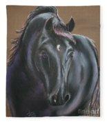 Dark Horse Fleece Blanket
