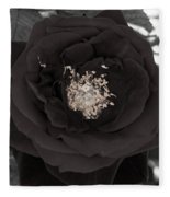 Dark Rose Fleece Blanket