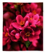 Dark Spring Dreams Fleece Blanket