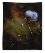 Dark Thistle Fleece Blanket