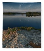 Darky Lake Fleece Blanket