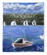 Darling Harbor Fleece Blanket