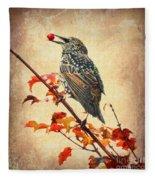 Darling Starling Fleece Blanket
