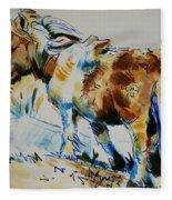 Dartmoor Pony Fleece Blanket