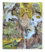 Darwinism					 Fleece Blanket