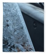 Dashing Through The Frost Fleece Blanket