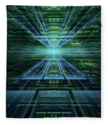 Data Pathways Fleece Blanket