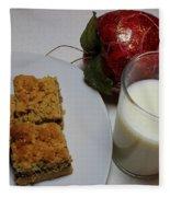 Date Squares - Snack - Dessert - Milk Fleece Blanket