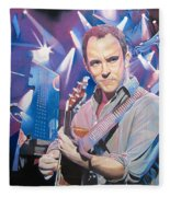 Dave Matthews And 2007 Lights Fleece Blanket
