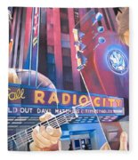 Dave Matthews And Tim Reynolds At Radio City Fleece Blanket