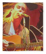 Dave Matthews At Vegoose Fleece Blanket
