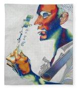 Dave Matthews Fleece Blanket