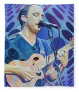 Dave Matthews-op Art Series Fleece Blanket