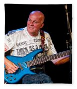 Dave Pegg Bass Player For Fairport Convention And Jethro Tull Fleece Blanket