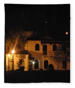 Davenport At Night Fleece Blanket