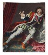 David As Richard IIi, Illustration Fleece Blanket