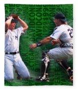 David Cone Yankees Perfect Game 1999 Zoom Fleece Blanket